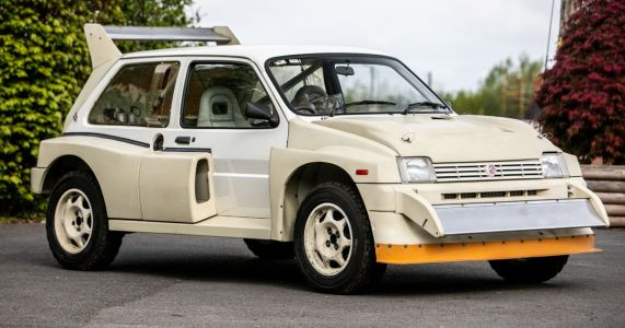 You Can Buy A Brand New MG Metro 6R4 With 7 Miles On The Clock