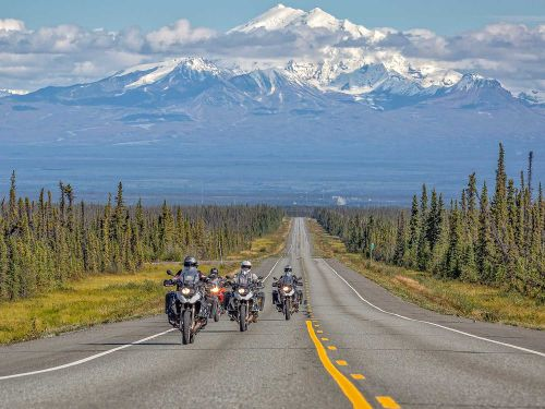 Adventure-Touring-Crossing The Yukon On BMW's R 1200 GS