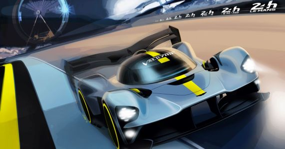 Official: Aston Martin Valkyrie Racer Will Bring V12 Noise To Le Mans 2021