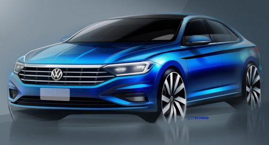 VW Continues To Tease The 2019 Jetta Ahead Of Detroit
