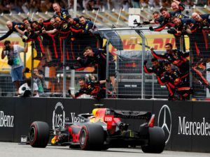 Max Verstappen Wins A Wet Weather Thriller In Germany