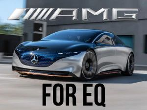 Mercedes-Benz EQS Electric Luxury Sedan Will Have An AMG Version