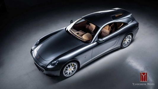 Vandenbrink Ferrari 612 Scaglietti Shooting Brake Took Over Ten Years To Build