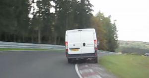 Watch A Fiat Ducato Van Get Hurled Around The Nurburgring With Serious Commitment