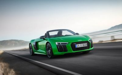 Open for Business: Audi R8 Spyder V10 Plus to Make Debut at The Quail