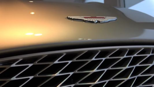 This Aston Martin Vanquish Zagato Grille Costs R530k