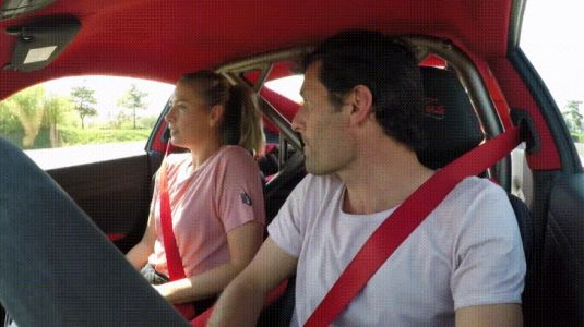 Mark Webber Scares Maria Sharapova In Porsche 911 GT2 RS