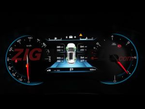 EXCLUSIVE MG Hector To Get 7-inch Digital Instrument Cluster