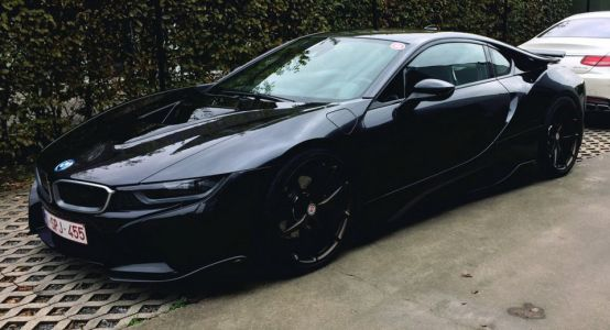 All-Black AC Schnitzer-Tuned BMW i8 Is What KITT Would Look Like Today