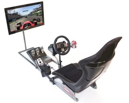Locally-Made Simulator Racing Rigs by G-Force Sim