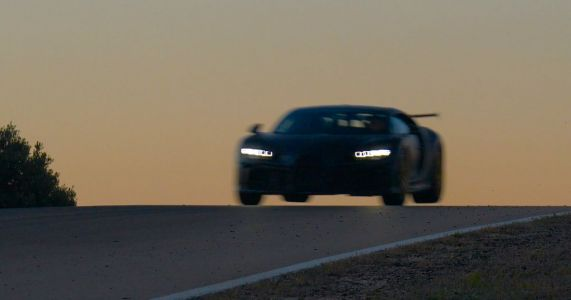 Why Wouldn't You Want To Watch A Bugatti Chiron Pur Sport Catching Air?
