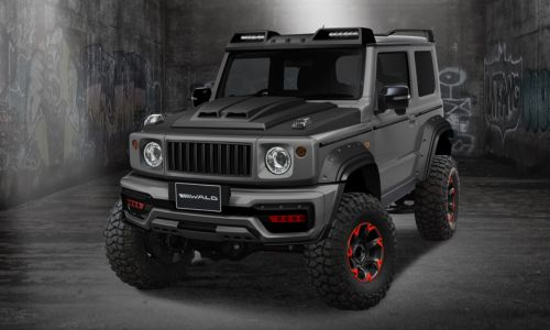 Suzuki Jimny Gets More Beefy Look by Wald