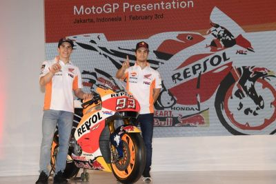 Repsol Honda Team 2017 racing effort