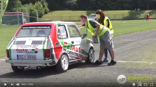 The Fiat 126p is the Best Rally Car