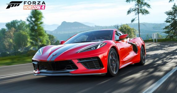 The C8 Chervolet Corvette Is Coming To Forza Horizon 4