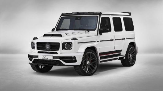 Mercedes-AMG G63 Gets Six Pipes From Lumma Design