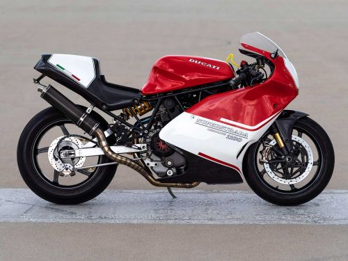 This Custom Ducati Motorcycle Is A MotoGP-Inspired Dream Photo Gallery