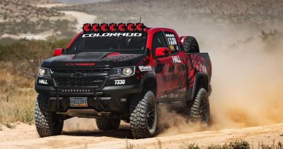 A Stock-Ish Version Of The Chevrolet Colorado ZR2 Is Going Off-Road Racing