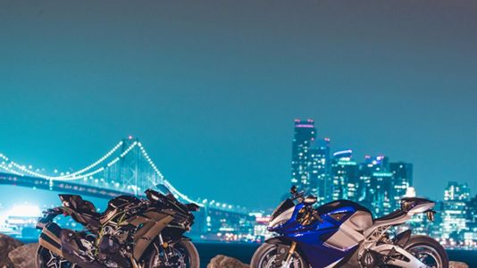 Watch Two of the Fastest Production Bikes in the World Go Head to Head