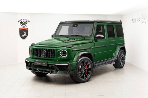 Topcar Gives The New G63 A New Carbon Pack