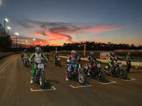 Flat Track Motorcycle Racing Returns 2020