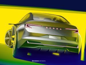 Skoda Teases Electric Vision iV Concept Ahead Of Geneva Reveal