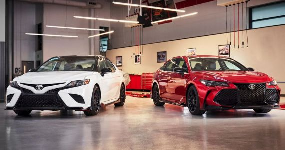Toyota Has Added TRD Spice To The Camry And Avalon