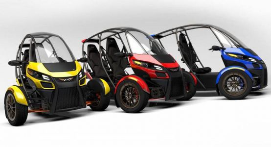 Arcimotor Unveils SRX Fun Utility Vehicle In California
