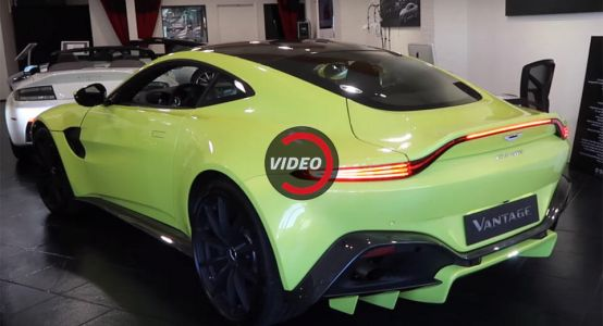 Hear The New Aston Martin Vantage Rev Its AMG Heart Out