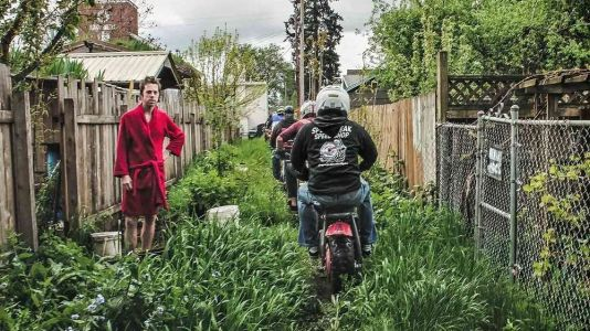 The Alley Sweeper Motorcycle Rally In Portland, Oregon - 2019