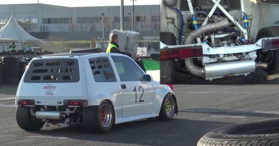 You Can't Help But Love A Fiat Cinquecento With A 1400cc Superbike Engine
