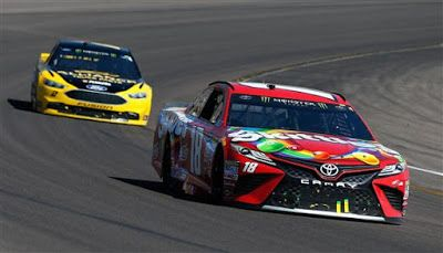Kyle Busch says JGR headed in right direction at Phoenix