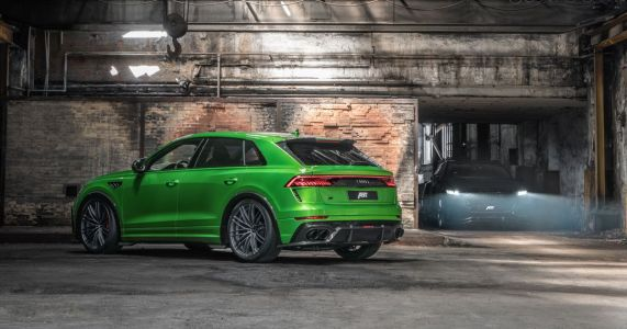 The Abt Audi RS Q8-R Is A Hilariously Unsubtle Way To Hit 196mph