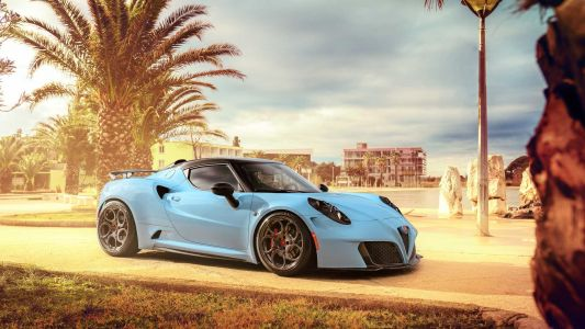 Pogea Racing Alfa Romeo 4C 'Zeus' Gains Power, Drops Weight