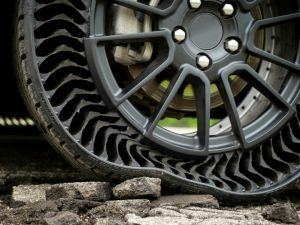 Michelin Testing Airless Uptis Protype Tyres
