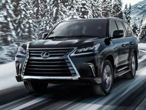 Lexus Drives In Flagship SUV With A Stonking V8 In India