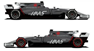 Haas F1 Unveils New Livery For Rest Of 2017 Season