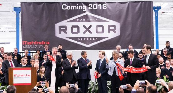 India's Mahindra Launches New U.S. Factory In Detroit, Production Starts In 2018
