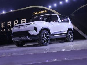 Tata Sierra Electric SUV Concept Might Be Launched In The Future