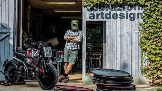 Vibrazioni Builds Beautiful Bikes From Old Oil Drums