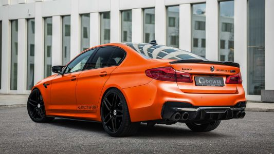Infinitas Hurricane 2 BMW M5 Aiming for 400 km/h