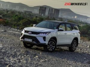 Toyota Fortuner Legender 4X4 AT Launched At Rs 4233 Lakh