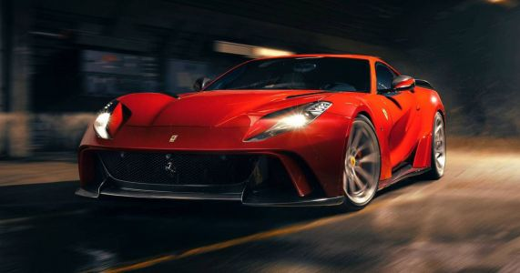 Behold The Wider, More Powerful Novitec N-Largo Ferrari 812 Superfast