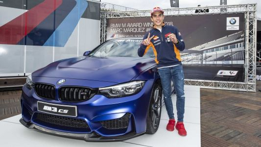 BMW M3 CS Gifted To Marc Marquez For Winning MotoGP Fastest Qualifier Again