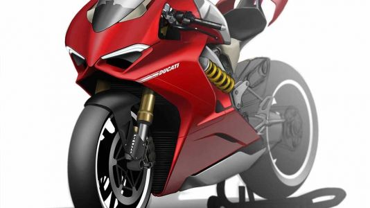 We Ask Ducati's Panigale V4 Designer About His Sk