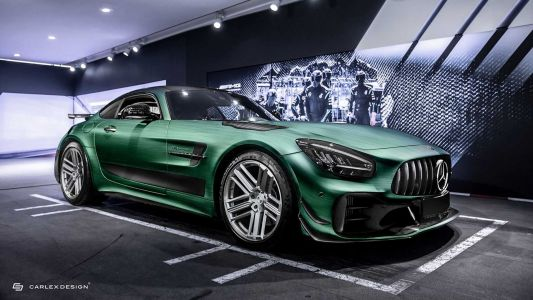 Carlex Design Mercedes-AMG GT R Pro Is Certainly Not For Everyone