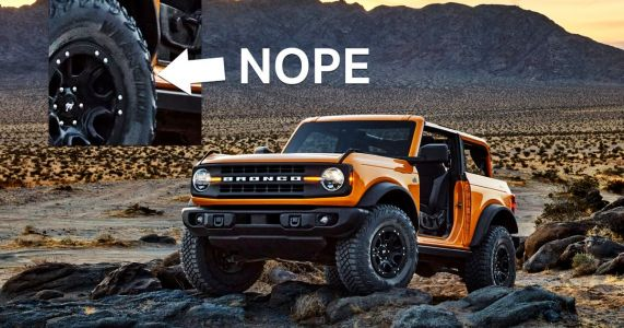 The Ford Bronco's Goodyear Tyres Will Have 'Wrangler' Branding Removed