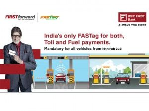 IDFC FIRST Bank FIRSTforward FASTag Paying For Fuel Is Now As Easy As Paying Toll