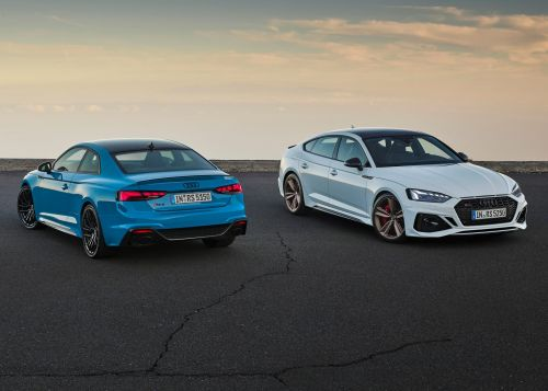 Audi Refresh The RS 5 Coupé and RS 5 Sportback