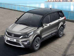 2019 Tata Hexa Launched Gets New Touchscreen Dual-tone Colours And Alloy Wheels